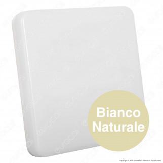 V-Tac VT-8033SQ Plafoniera LED 15W Forma Quadrata Colore Bianco - SKU 1390 / 5567 / 1391