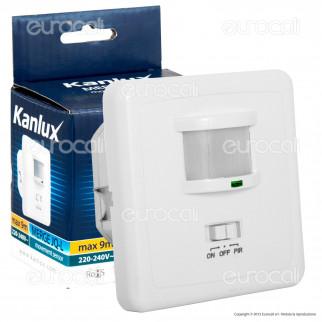 Kanlux MERGE JQ-L Sensore di Movimento a Infrarossi per Lampadine -mod.7690