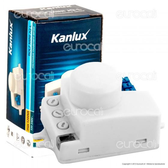 Kanlux ROLF MINI JQ-L Sensore di Movimento a Microonde per Lampadine