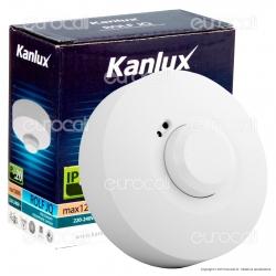 Kanlux ROLF JQ-O Sensore di Movimento a Microonde per Lampadine -mod.8821