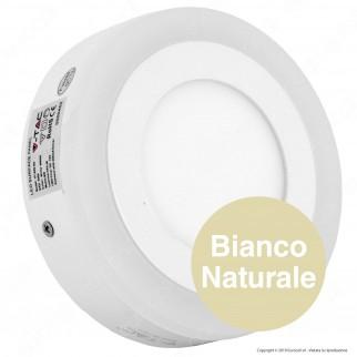V-Tac VT-809RD Pannello Bi-LED Rotondo 6W + 2W SMD - SKU 4890 / 4891 / 4892
