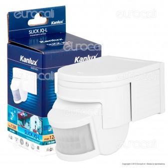 Kanlux SLICK JQ-L-W Sensore di Movimento a Infrarossi per Lampadine