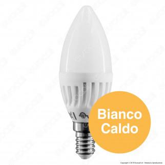 FAI Lampadina LED E14 9W Candela in Ceramica - mod. 5181/CA / 5181/CO / 5181/FR