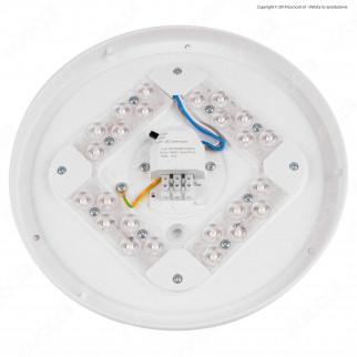 V-Tac VT-8412 Plafoniera LED 12W Changing Color 3in1 Forma Circolare Copertura Opaca - SKU 7603