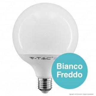 2 Lampadine LED V-Tac PRO VT-242 E27 22W Globo G120 Chip Samsung - Pack Risparmio