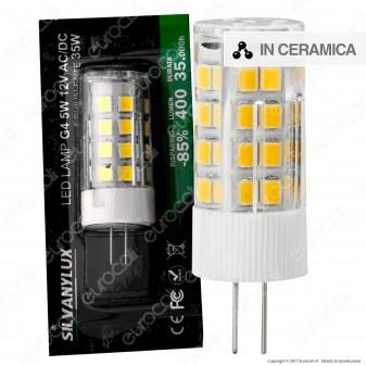 Silvanylux Lampadina LED G4 5W Bulb - mod. GRN628/1 / GRN628/3 / GRN628/2