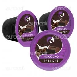 10 Capsule Baciato Caffè Passione Gusto Mokaccino Cialde Compatibili Nespresso