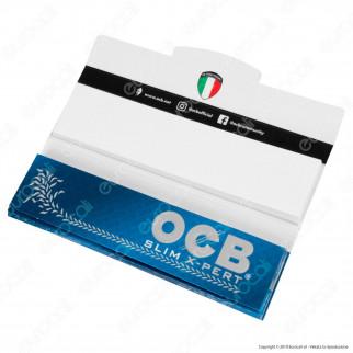 OCB Slim X-Pert Pack Cartine King Size Lunghe e Filtri in Carta - Libretto