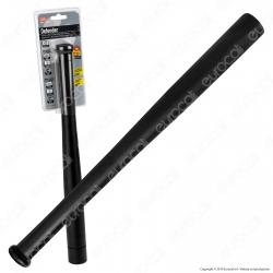 CFG EL011 Torcia LED Defender 3W in Alluminio Nero IPX4 con 3 Batterie MiniStilo AAA