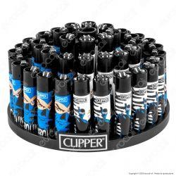 Clipper Large Fantasia DIABOLIK 1 - Box da 48 Accendini