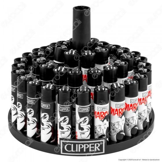 Clipper Large Fantasia DIABOLIK 2 - Box da 48 Accendini