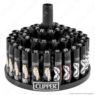 Clipper Large Fantasia DIABOLIK 3 - Box da 48 Accendini