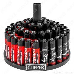 Clipper Large Fantasia DIABOLIK 4 - Box da 48 Accendini