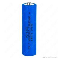Velamp Batteria al Litio Ricaricabile INR 18650 3,6V 3350mAh - Batteria Singola