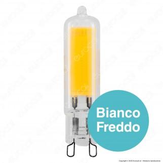 Life Lampadina LED COB G9 3,8W Tubolare - mod. 39.931121C / 39.931121N / 39.931121F
