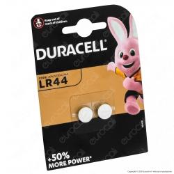Duracell Alcaline LR44 / A76 / V13GA Pile 1,5V - Blister 2 Batterie