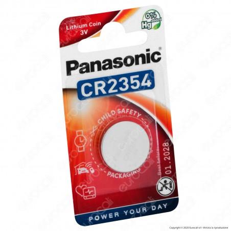 Panasonic Lithium CR2354 / 5BP al Litio Pila 3V - Blister 1 Batteria