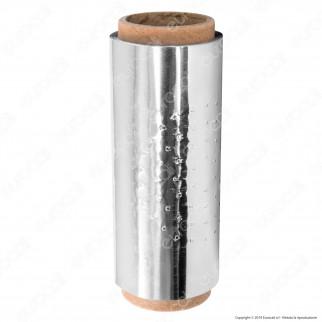 Rotolo di Carta Alluminio per Narghilè - 100 Foglietti da 120x120 mm