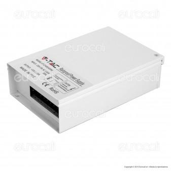 V-Tac Alimentatore 400W Rainproof IP44 a 3 Uscite con Morsetti a Vite