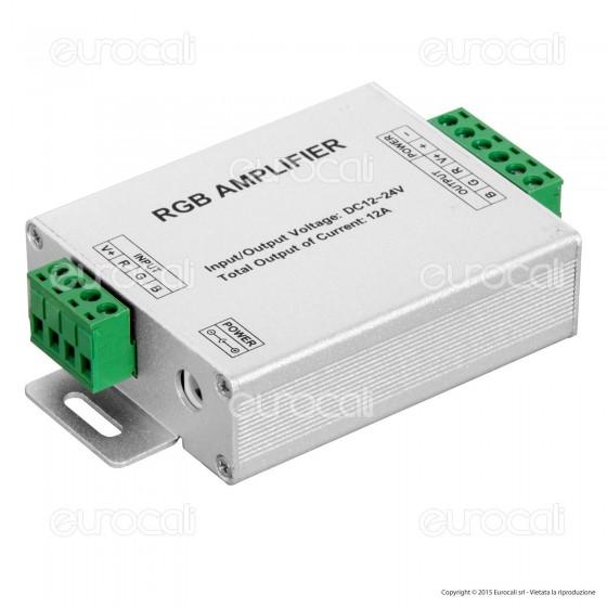V-Tac Amplificatore di Segnale per Controller di Strisce LED RGB