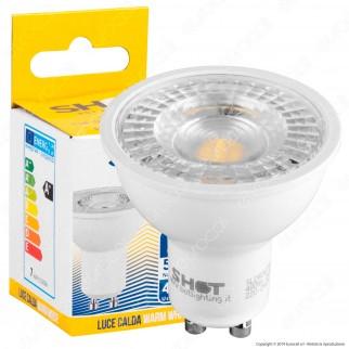 Bot Lighting Shot Lampadina LED GU10 6W Faretto Spotlight 110° - mod. SLD630752B / SLD630753B / SLD630751B
