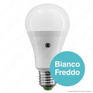 Life Lampadina LED E27 12W Bulb A65 con Sensore Crepuscolare - mod. 39.920364SC / 39.920364SF