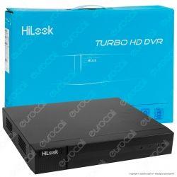Hikvision HiLook Turbo HD Registratore DVR per Telecamere di Sorveglianza 4in1 con 16 Canali 4 MP - mod. DVR-216Q-K1