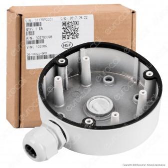 Hikvision Junction Box Scatola di Giunzione Impermeabile con Staffa di Fissaggio per Telecamera HiLook - mod. DS-1280ZJ-DM21