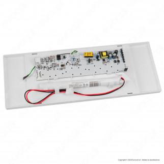 Awex Lampada LED d'Emergenza 2W Anti Black Out 300lm Autonomia 1 Ora con Pittogrammi - mod. WND2WC1MWO
