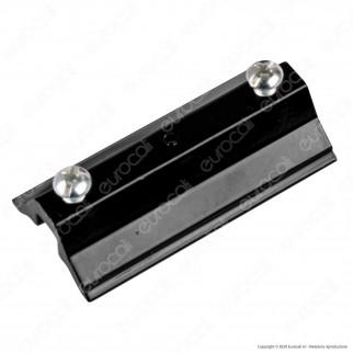 V-Tac Kit Sospensione Singola in Acciaio per Track Light a Binario Colore Nero - SKU 3565