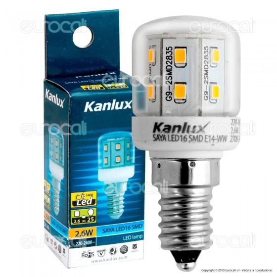 Kanlux SAYA Lampadina LED E14 2,6W Tubular