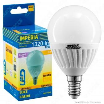 Imperia Ceramic Pro Lampadina LED E14 12W Bulb A60 - mod. 6017364 / 6017371 / 6017388