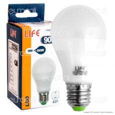 Life Serie GF Lampadina LED E27 9W Bulb A60