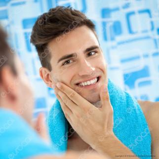 Nivea Men Deep After Shave Lotion Lozione Dopobarba Anti-Batterica - Flacone da 100ml