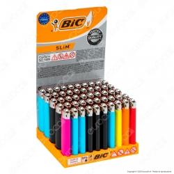 Bic Slim J23 Medio Colori Assortiti - Box da 50 Accendini