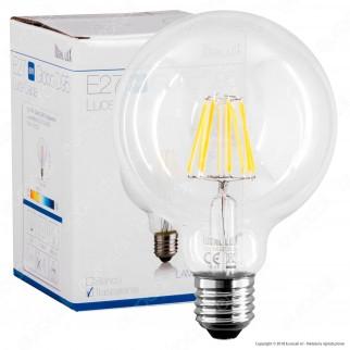 Ideal Lux Lampadina LED E27 8W Globo G95 Filamento - mod. 101323 / 153971