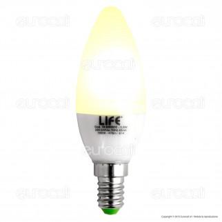 Life Serie GF Lampadina LED E14 5,5W Candela