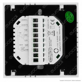 V-Tac VT-5888 Fan Coil Thermostat Smart Control Termostato Wi-Fi per Caldaie e Termoconvettori - SKU 7908