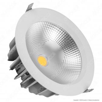 V-Tac VT-2645 Faretto LED da Incasso Rotondo 40W COB - SKU 1163 / 1164 / 1165