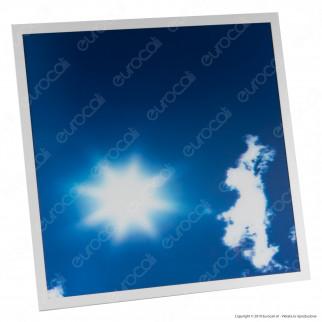 Ener-J 4 Pannelli LED 60x60 40W SMD Fantasia Cielo Diurno 3D con Driver - mod. E800