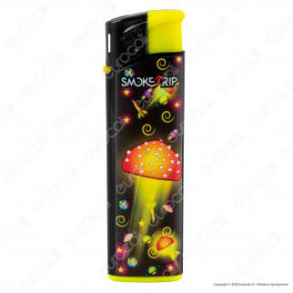 SmokeTrip Accendini Elettronici Ricaricabili Fantasia Space Mushroom - 5 Accendini