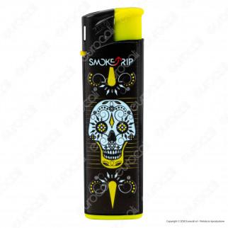 SmokeTrip Accendini Elettronici Ricaricabili Fantasia Mexican Skulls - Box da 50 Accendini