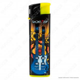 SmokeTrip Accendini Elettronici Ricaricabili Fantasia Rockstars - Box da 50 Accendini