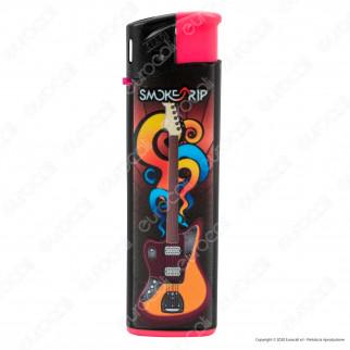SmokeTrip Accendini Elettronici Ricaricabili Fantasia Rockstars - 5 Accendini