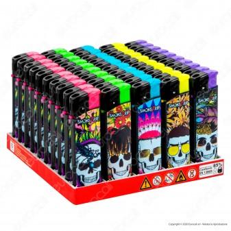 SmokeTrip Accendini Elettronici Ricaricabili Fantasia Trappers - Box da 50 Accendini