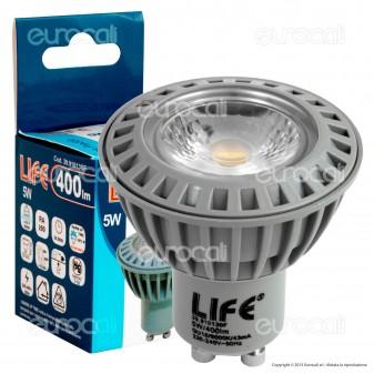 Life PAR16 Lampadina LED GU10 5W Faretto Spotlight COB
