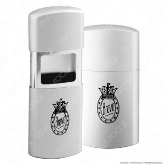 Bravo Posacenere Tascabile in Alluminio