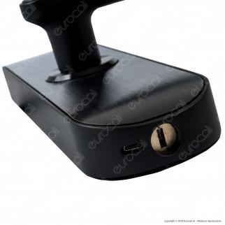 Ener-J Wi-Fi Smart Doorlock Kit Serratura e Maniglie per Porte Apertura a Destra 5in1 Colore Nero - mod. SHA5263