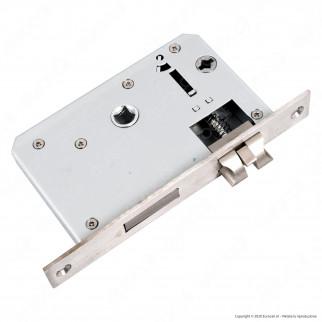 Ener-J Wi-Fi Smart Doorlock Kit Serratura e Maniglie per Porte Apertura a Destra 5in1 Colore Argento - mod. SHA5277
