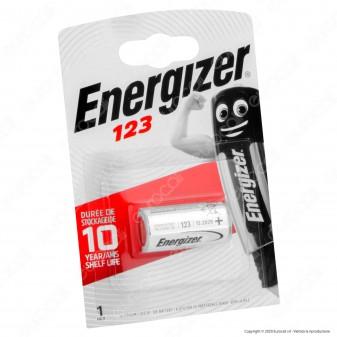 Energizer Lithium CR123 Pila Al Litio - Blister 1 Batteria